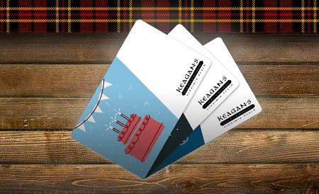 Keagan's Gift Card